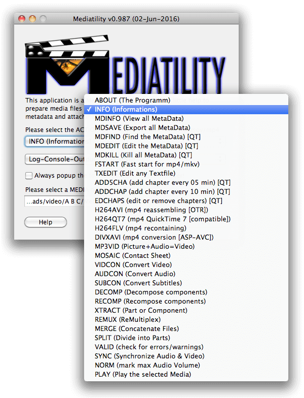 Mediatility: Simple Media Tool